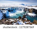 scenic view of godafoss ... | Shutterstock . vector #1175287369