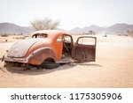 abandoned vintage car wrecks at ... | Shutterstock . vector #1175305906