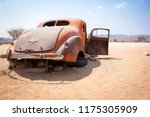 abandoned vintage car wrecks at ... | Shutterstock . vector #1175305909