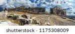 walls of ancient pleuron.the...   Shutterstock . vector #1175308009