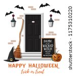 home of the wicked witch and... | Shutterstock .eps vector #1175310220