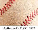 sports equipment old baseball... | Shutterstock . vector #1175310409