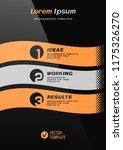 brochure cover or web banner... | Shutterstock .eps vector #1175326270