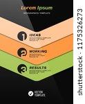 brochure cover or web banner... | Shutterstock .eps vector #1175326273