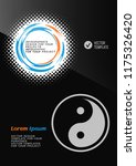 brochure or web banner design... | Shutterstock .eps vector #1175326420