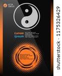 brochure or web banner design... | Shutterstock .eps vector #1175326429