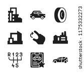 automotive icon. 9 automotive...   Shutterstock .eps vector #1175332273