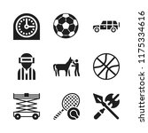 competition icon. 9 competition ... | Shutterstock .eps vector #1175334616
