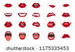 cartoon icons big set isolated. ... | Shutterstock .eps vector #1175335453