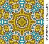 decorative hand drawn seamless... | Shutterstock .eps vector #1175338396