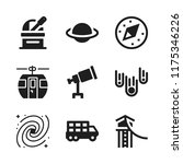 way icon. 9 way vector icons... | Shutterstock .eps vector #1175346226