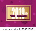 2019 happy new year backgrounds ... | Shutterstock .eps vector #1175359033