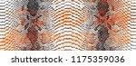 reptile or snake skin pattern... | Shutterstock .eps vector #1175359036