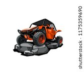 off road atv buggy  rides in... | Shutterstock .eps vector #1175359690
