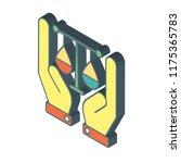business isometric left top... | Shutterstock .eps vector #1175365783