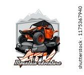off road atv buggy logo ...   Shutterstock .eps vector #1175367940