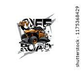 off road atv buggy logo  atv...   Shutterstock .eps vector #1175368429