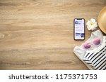 alushta  russia   august 26 ... | Shutterstock . vector #1175371753