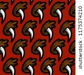 grizzly bear claw vector... | Shutterstock .eps vector #1175374210
