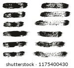 paint brush lines high detail... | Shutterstock .eps vector #1175400430