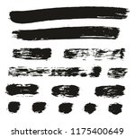 paint brush lines high detail... | Shutterstock .eps vector #1175400649