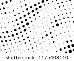 abstract halftone wave dotted... | Shutterstock .eps vector #1175408110