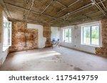 working process of installing... | Shutterstock . vector #1175419759