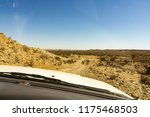 leaning out from car standing... | Shutterstock . vector #1175468503
