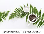 spa background with dead sea... | Shutterstock . vector #1175500450