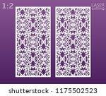 laser cut ornamental panels... | Shutterstock .eps vector #1175502523
