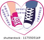 vector youth illustration of a... | Shutterstock .eps vector #1175505169