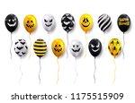happy halloween. holiday...   Shutterstock .eps vector #1175515909