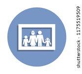 family photo icon in badge...