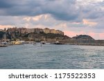 evening view of port in tropea... | Shutterstock . vector #1175522353