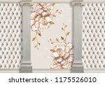 3d wallpapers with columns ...   Shutterstock . vector #1175526010