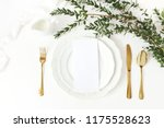 festive wedding  birthday table ... | Shutterstock . vector #1175528623
