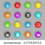 rhythm instruments colored... | Shutterstock .eps vector #1175534713