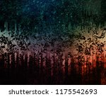 musical notes background | Shutterstock . vector #1175542693