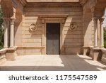 rear of the citadel park parc... | Shutterstock . vector #1175547589