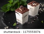 mini dessert made from delicate ... | Shutterstock . vector #1175553076
