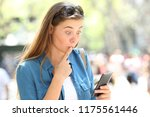 oops i make an online mistake... | Shutterstock . vector #1175561446