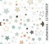 seamless vector repetitive... | Shutterstock .eps vector #1175563519