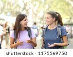 backpackers traveling and... | Shutterstock . vector #1175569750