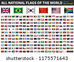 all official national flags of... | Shutterstock .eps vector #1175571643