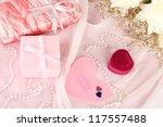 wedding invitations on...   Shutterstock . vector #117557488