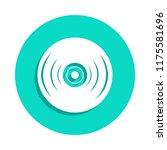 vinyl record icon in badge...