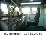 control panel of the old ships... | Shutterstock . vector #1175614750