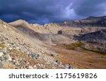 dark storm clouds forming over... | Shutterstock . vector #1175619826