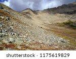 dark storm clouds forming over... | Shutterstock . vector #1175619829