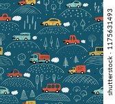 cartoon transportation...   Shutterstock .eps vector #1175631493